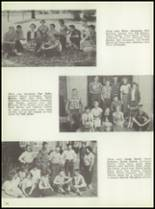 1954 Monticello High School Yearbook Page 38 & 39