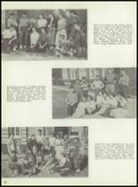 1954 Monticello High School Yearbook Page 42 & 43