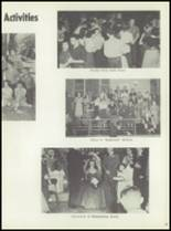 1954 Monticello High School Yearbook Page 50 & 51