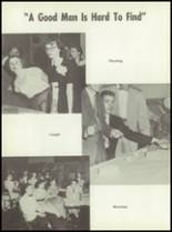 1954 Monticello High School Yearbook Page 80 & 81
