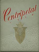 1954 Yearbook Central Catholic High School