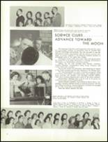 1961 Lew Wallace High School Yearbook Page 50 & 51