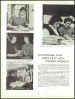 1961 Lew Wallace High School Yearbook Page 64 & 65