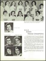 1961 Lew Wallace High School Yearbook Page 90 & 91
