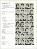 1961 Lew Wallace High School Yearbook Page 102 & 103