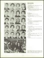 1961 Lew Wallace High School Yearbook Page 104 & 105