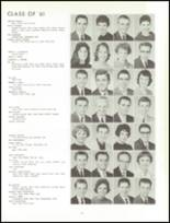1961 Lew Wallace High School Yearbook Page 108 & 109