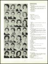 1961 Lew Wallace High School Yearbook Page 110 & 111