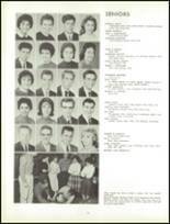 1961 Lew Wallace High School Yearbook Page 112 & 113