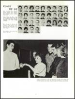 1961 Lew Wallace High School Yearbook Page 124 & 125