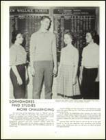 1961 Lew Wallace High School Yearbook Page 126 & 127