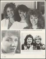 1987 White Pine County High School Yearbook Page 20 & 21