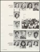 1987 White Pine County High School Yearbook Page 38 & 39