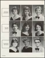 1987 White Pine County High School Yearbook Page 54 & 55