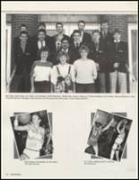 1987 White Pine County High School Yearbook Page 82 & 83