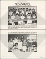 1987 White Pine County High School Yearbook Page 128 & 129