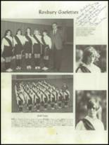 1968 Roxbury High School Yearbook Page 50 & 51