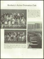 1968 Roxbury High School Yearbook Page 60 & 61