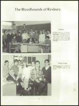 1968 Roxbury High School Yearbook Page 62 & 63