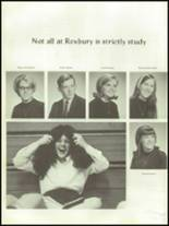 1968 Roxbury High School Yearbook Page 116 & 117