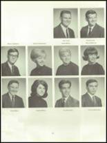 1968 Roxbury High School Yearbook Page 128 & 129