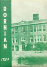 1954 Yearbook Dorchester High School