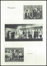 1966 Central High School Yearbook Page 134 & 135