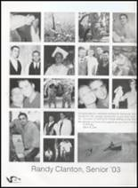 2003 Hermitage High School Yearbook Page 128 & 129