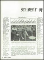 1988 Miami High School Yearbook Page 26 & 27