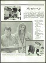 1988 Miami High School Yearbook Page 36 & 37