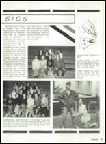 1988 Miami High School Yearbook Page 42 & 43