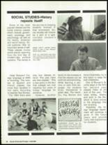 1988 Miami High School Yearbook Page 50 & 51