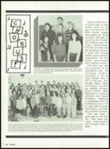 1988 Miami High School Yearbook Page 52 & 53