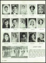 1988 Miami High School Yearbook Page 84 & 85