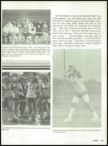 1988 Miami High School Yearbook Page 132 & 133