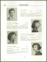 1951 Catasauqua High School Yearbook Page 24 & 25