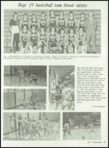 1985 Kimberly High School Yearbook Page 98 & 99