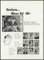 1980 Manzanola High School Yearbook Page 20 & 21