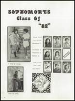 1980 Manzanola High School Yearbook Page 24 & 25