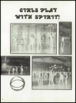 1980 Manzanola High School Yearbook Page 46 & 47