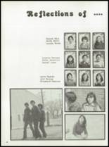 1980 Manzanola High School Yearbook Page 52 & 53