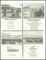 1984 Neche High School Yearbook Page 58 & 59
