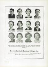 1937 Centralia High School Yearbook Page 92 & 93