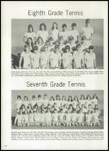 1973 Seminole High School Yearbook Page 166 & 167