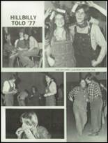 1977 Montesano High School Yearbook Page 106 & 107