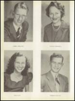 1950 Baird High School Yearbook Page 16 & 17