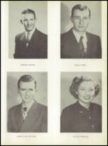 1950 Baird High School Yearbook Page 18 & 19