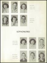 1950 Baird High School Yearbook Page 26 & 27