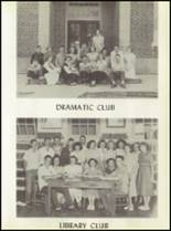1950 Baird High School Yearbook Page 50 & 51