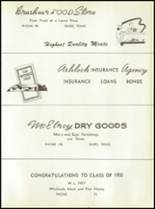 1950 Baird High School Yearbook Page 88 & 89